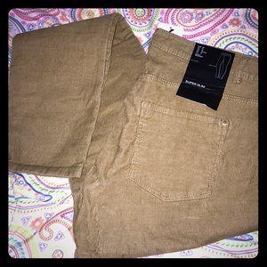 Tan Skinny Courduroy pants